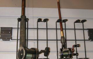 Fishing Pole Rack