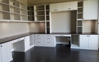 Built In Home Office Cabinet