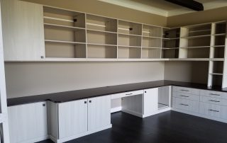 Custom Home Office Cabinets