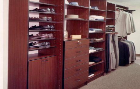 Mahogany Closet