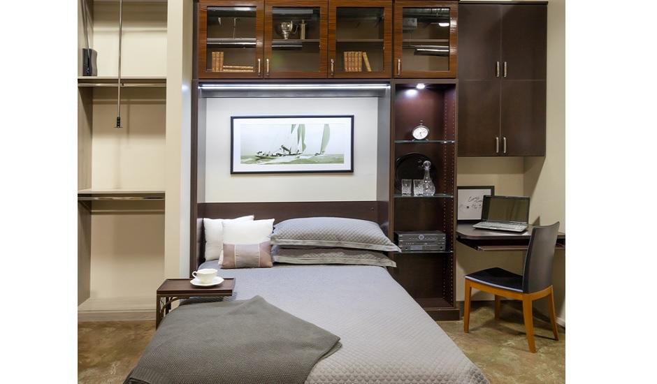 Murphy Bed-Makassar Gloss System