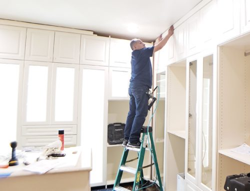 How Messy is a Custom Closet Install?