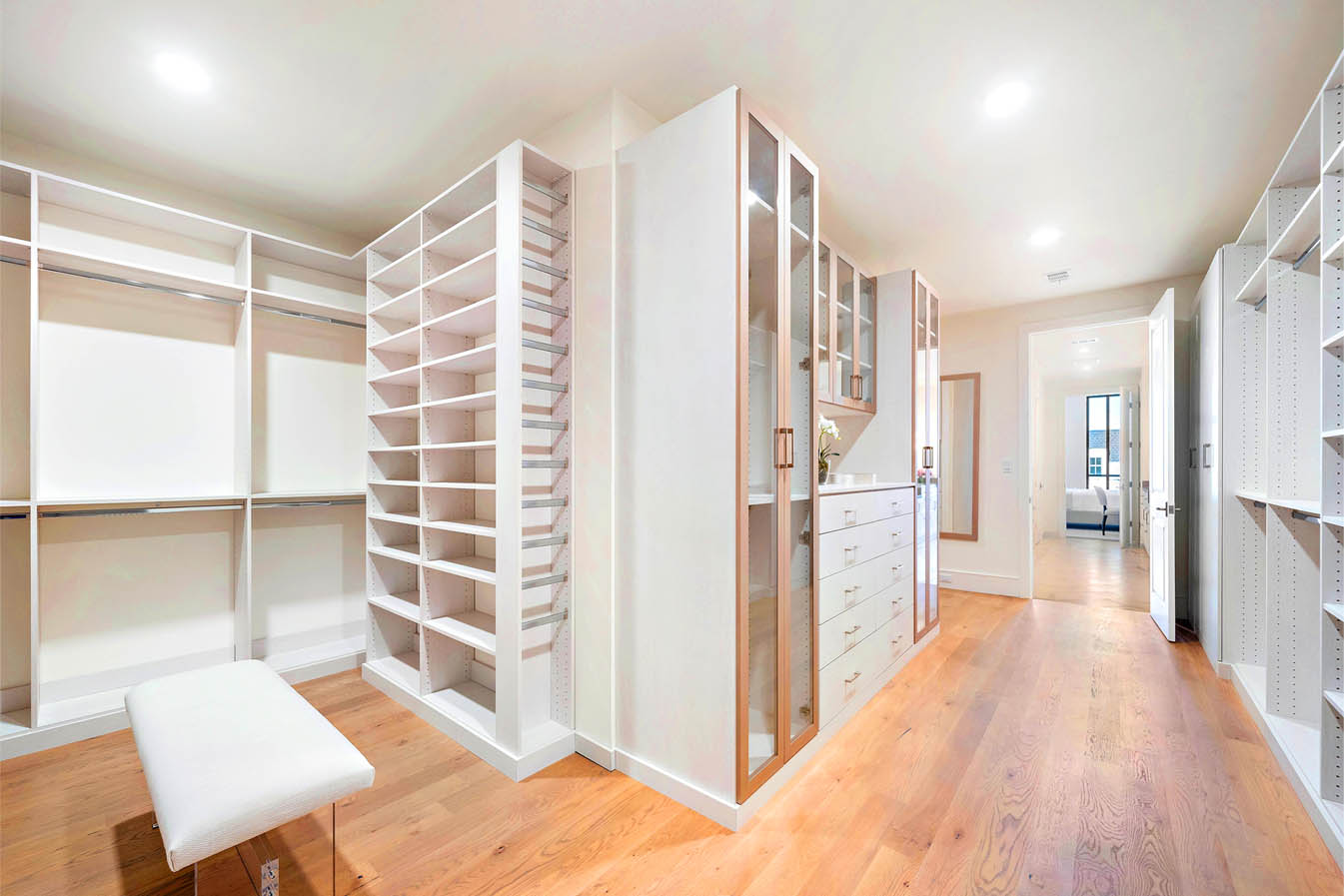 Custom closet project - spacemanager closets