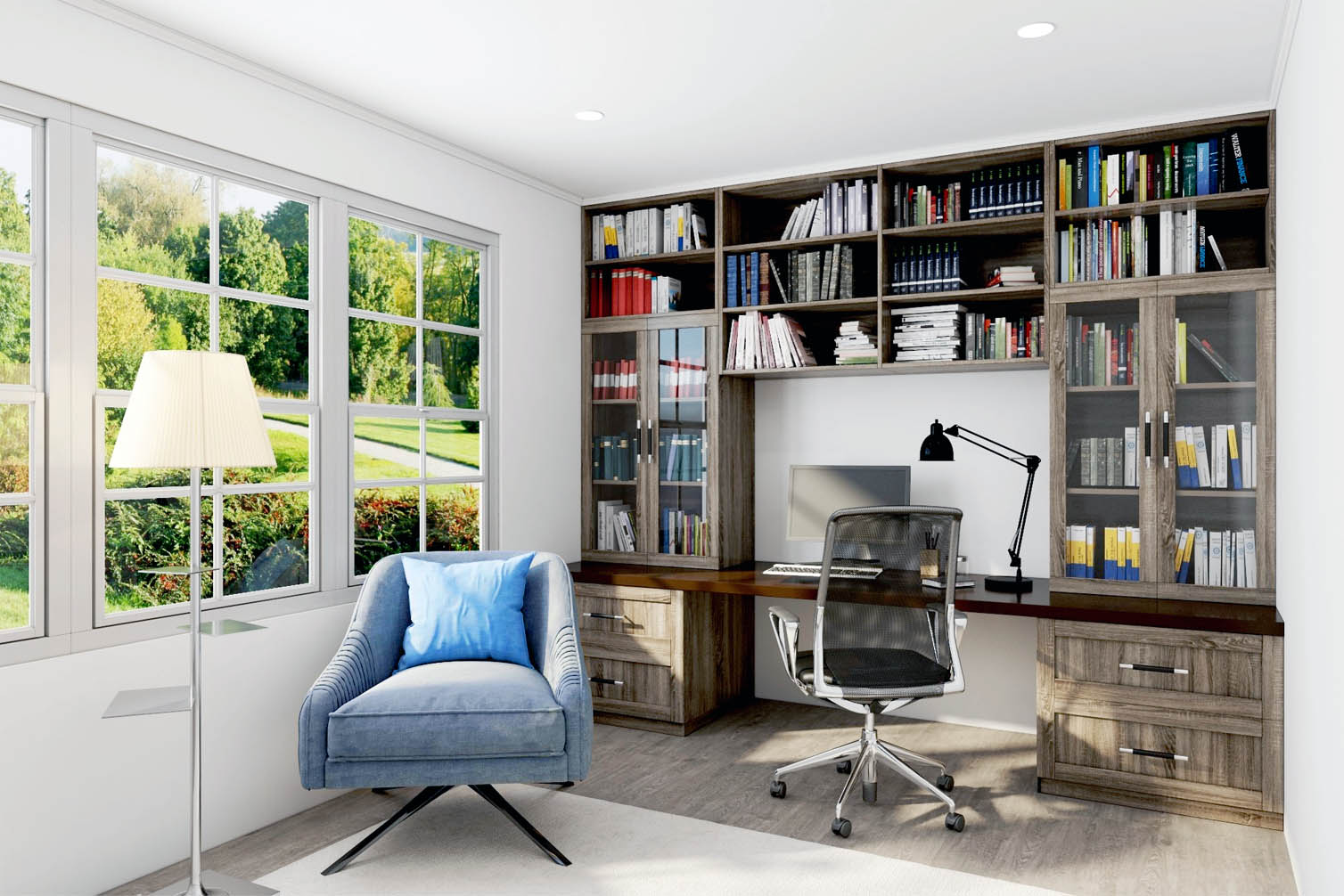 SpaceManager Closets - home office