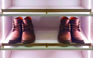 Custom lighting with boots