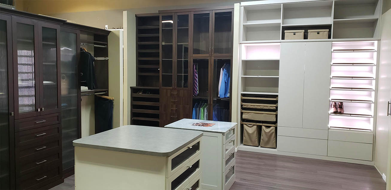 SpaceManager Closets showroom