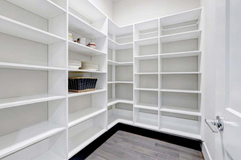 Custom Pantry by SpaceManager Closets