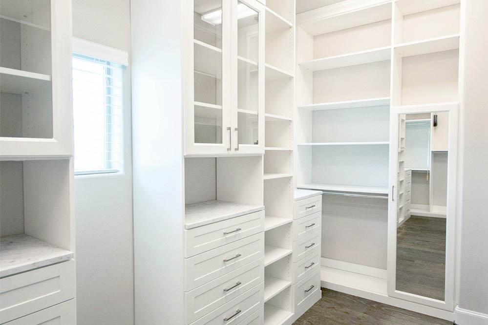 SpaceManager Closets - custom closet area
