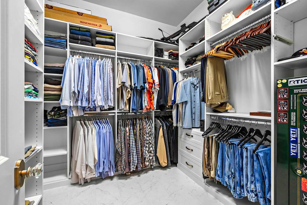 SpaceManager Closets - custom closet bedroom