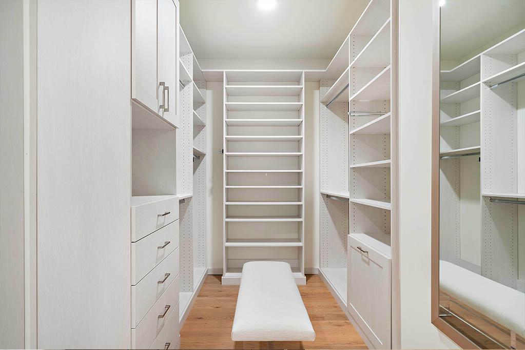 SpaceManager Closets custom closet shelves