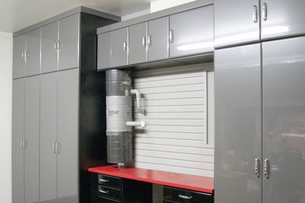SpaceManager Closets - custom garage cabinets