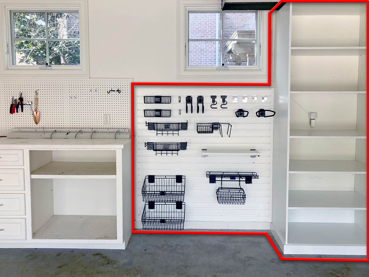 Garage shelving options