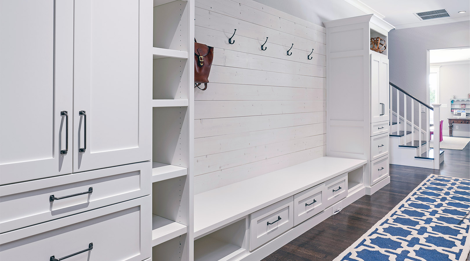 SpaceManager Closets - mud room