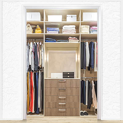 Closet Cost page high end reach in closet