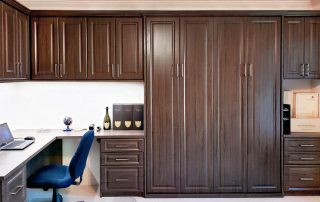 Custom Office space with murphy bed