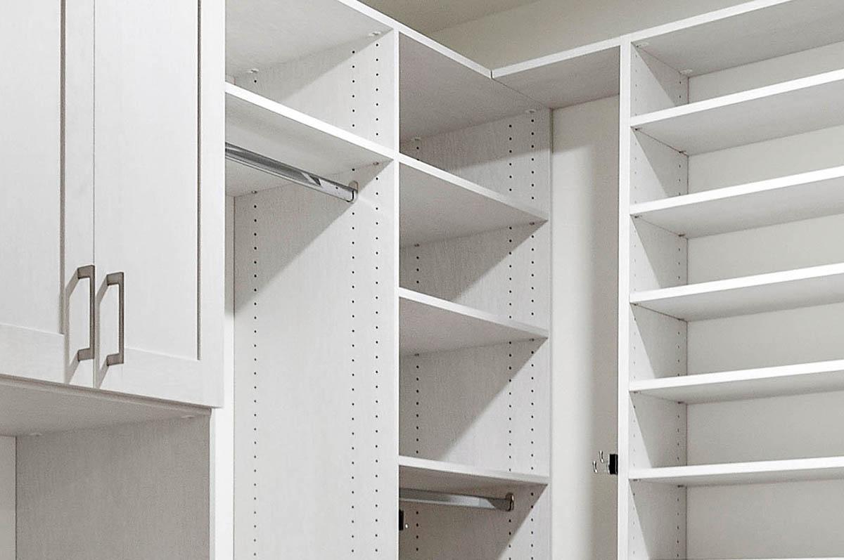 Custom Walk in Closet additional storage space