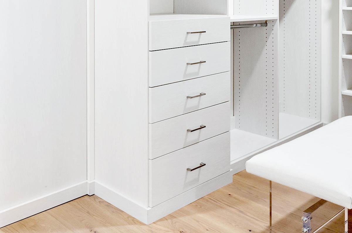 Custom Walk in Closet drawer stack