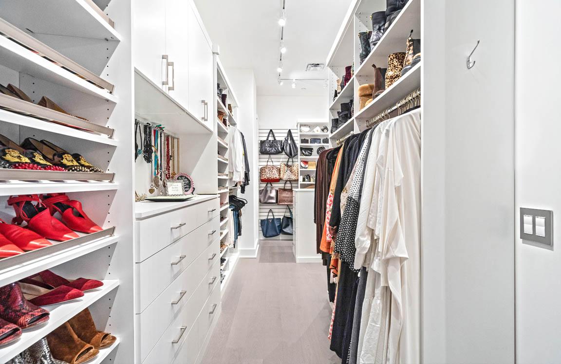 Features Main Image - master closet long