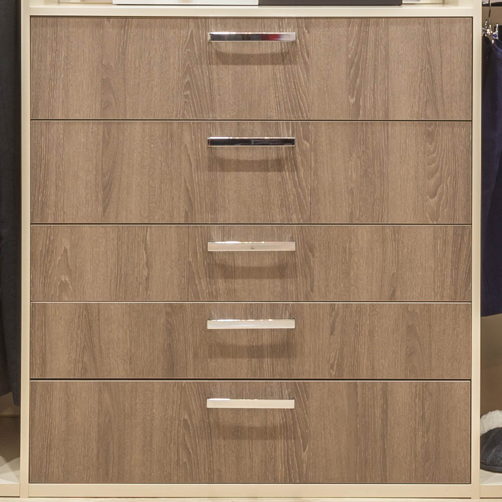 Reach in Closet high end dresser drawers