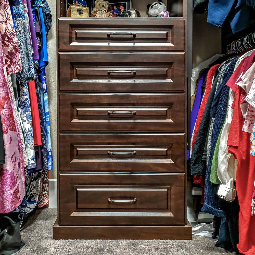 Custom walk in closet +