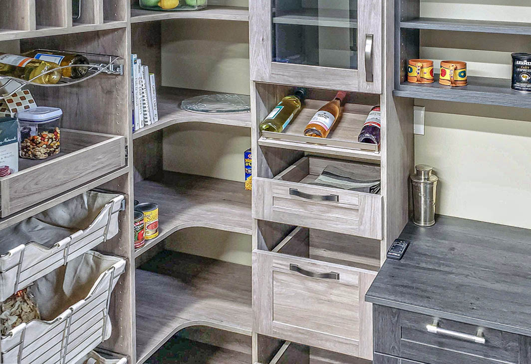 SpaceManager Closets - Custom Pantry