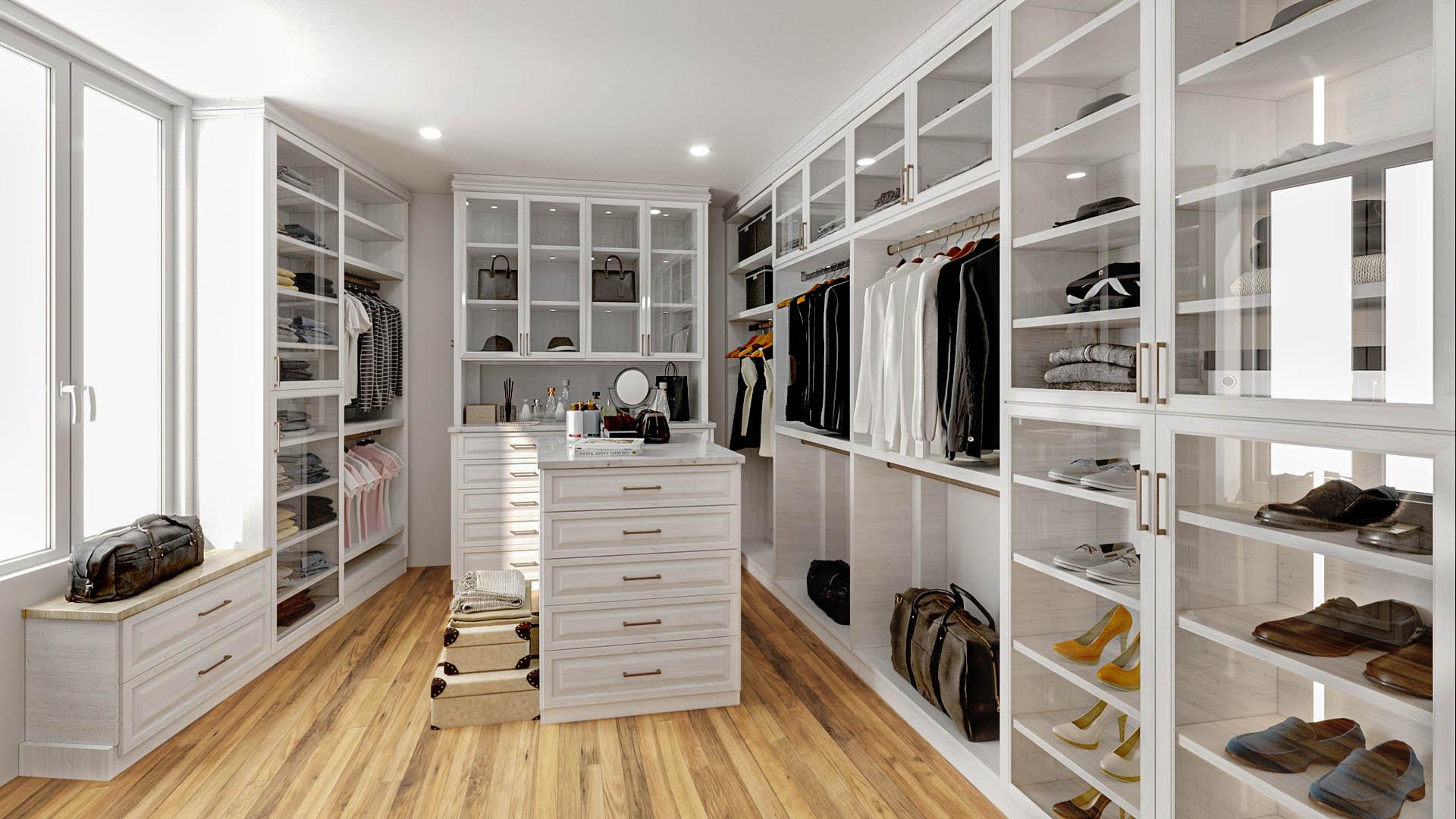 SpaceManager Closets - custom closet design